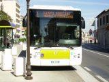 Un autobus urbano in Campo Marconi